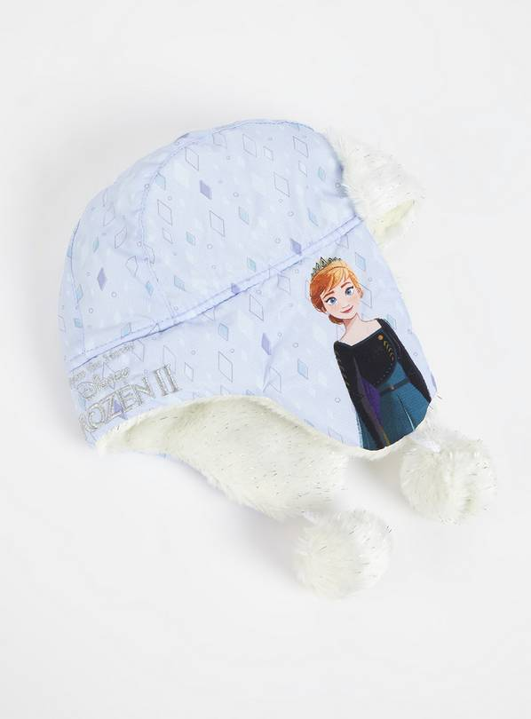 Disney Frozen 2 Lilac Trapper Hat - 1-2 years