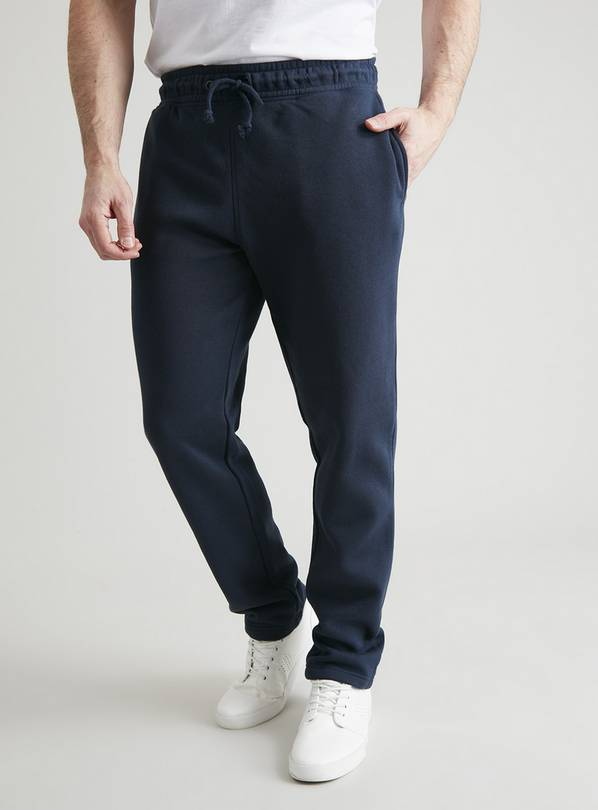 Navy Regular Fit Cotton-Rich Joggers - S