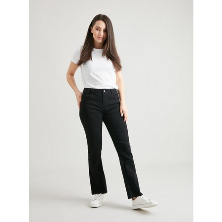 PETITE Black Straight Leg Jeans - 6