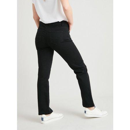 PETITE Black Straight Leg Jeans - 18