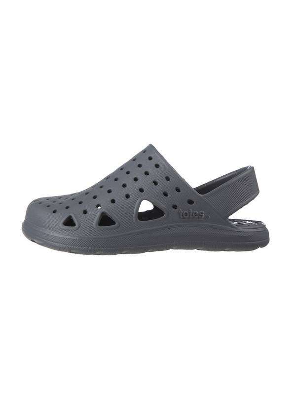 Sol Bounce Grey Clogs - 7-8