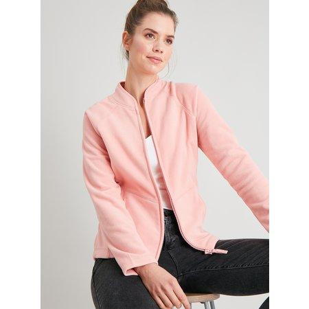 Pink Zip Through Fleece - 12