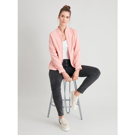 Pink Zip Through Fleece - 18