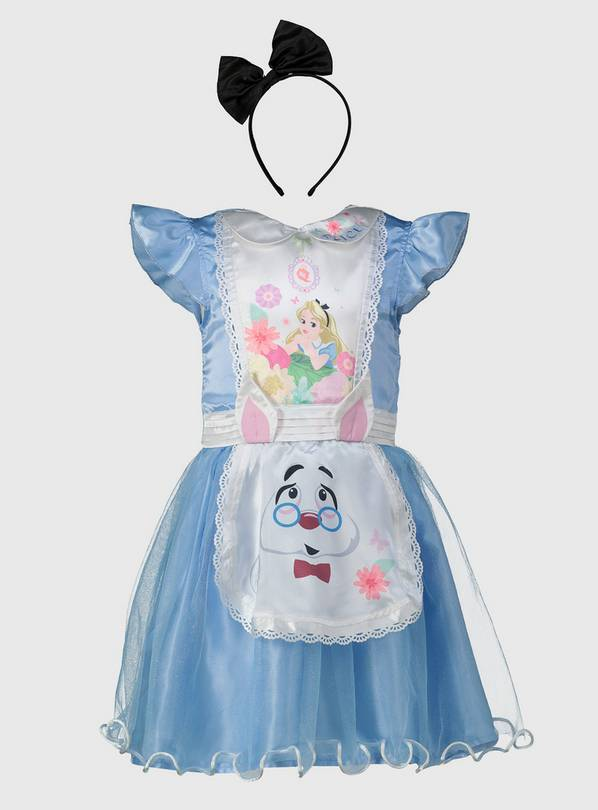 Disney Alice In Wonderland Blue Costume - 7-8 years