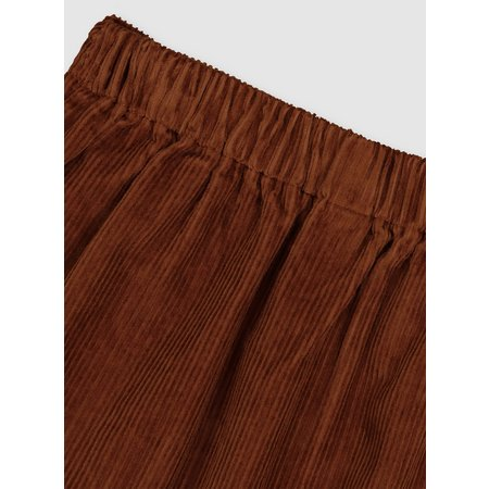 Brown A-Line Corduroy Skirt - 5 years