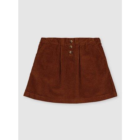 Brown A-Line Corduroy Skirt - 8 years