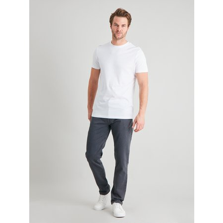 Grey Slim Fit Ultimate Comfort Jeans With Stretch - W38 L32