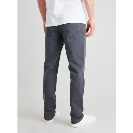 Grey Slim Fit Ultimate Comfort Jeans With Stretch - W44 L32