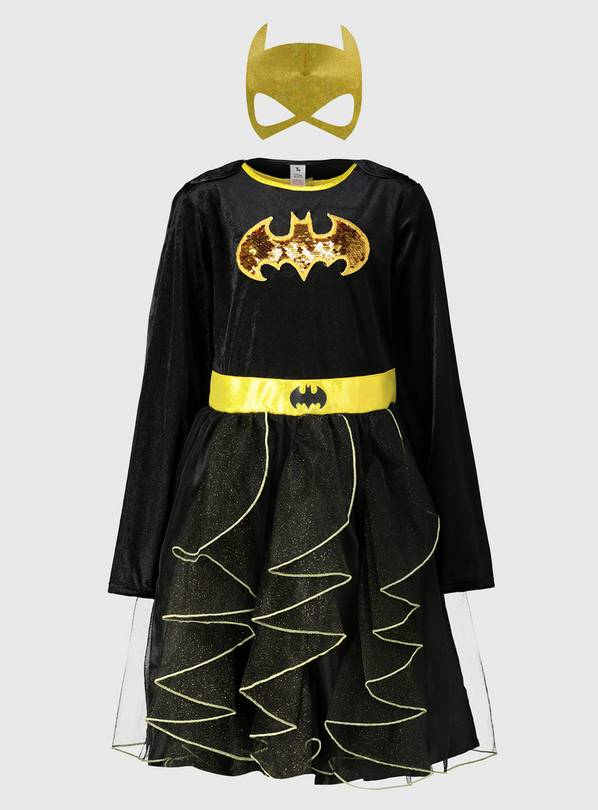 DC Comics Black Batgirl Costume - 2-3 years