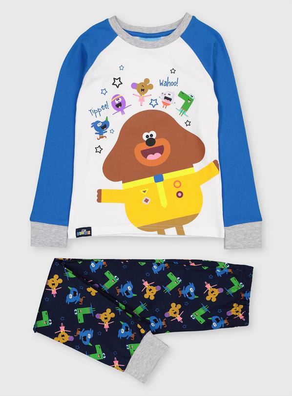 Hey Duggee Blue Character Pyjama Set - 1-1.5 years