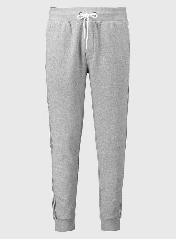 Grey Side Stripe Jogger - XXL