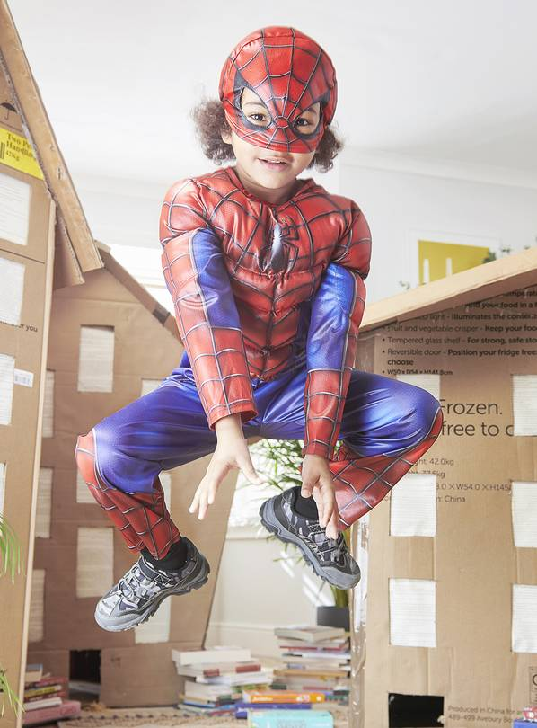 Marvel Spider-Man Red Costume - 2-3 years