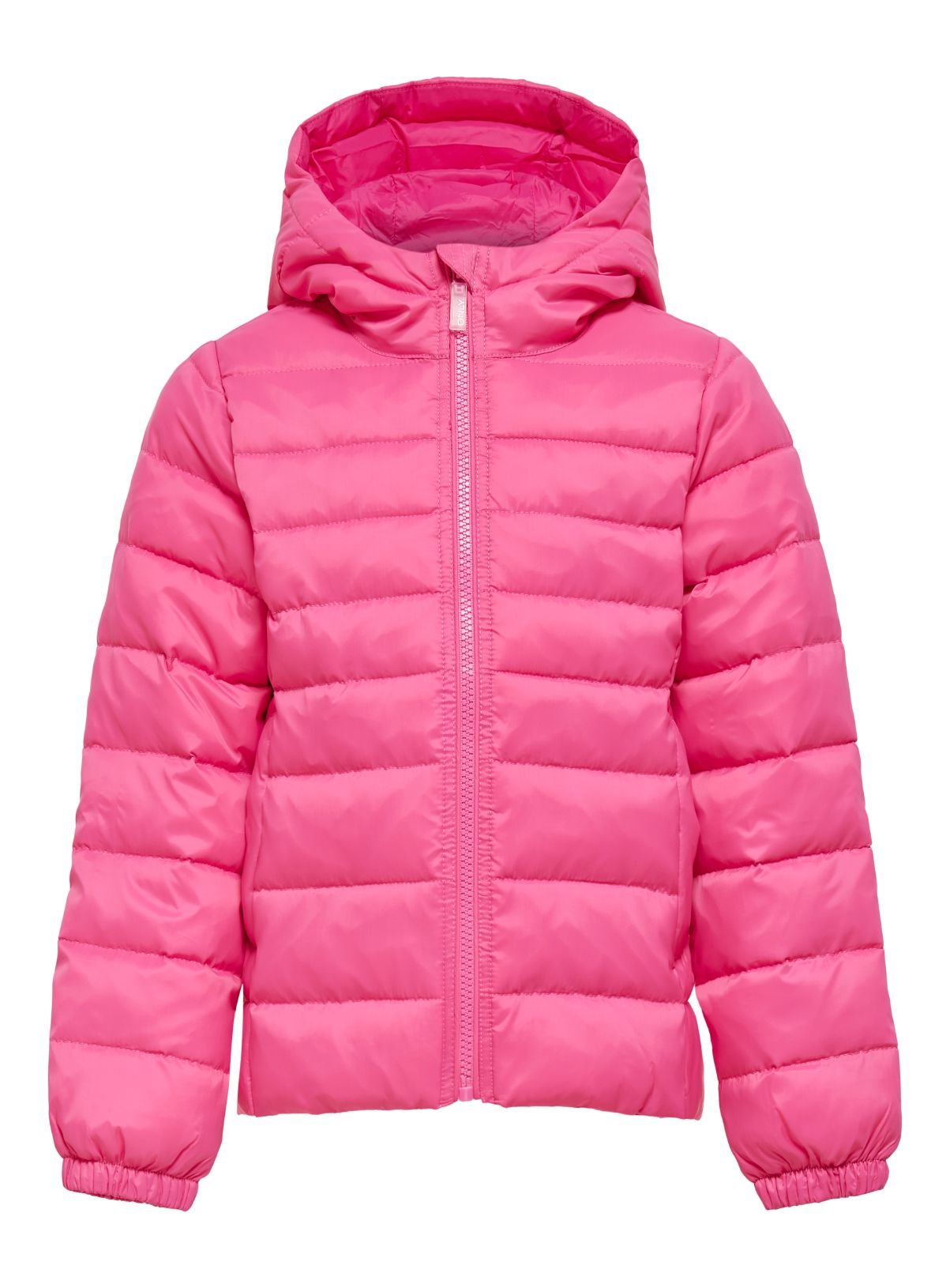 ONLY Kids Pink Hooded Puffer Jacket - 11 years