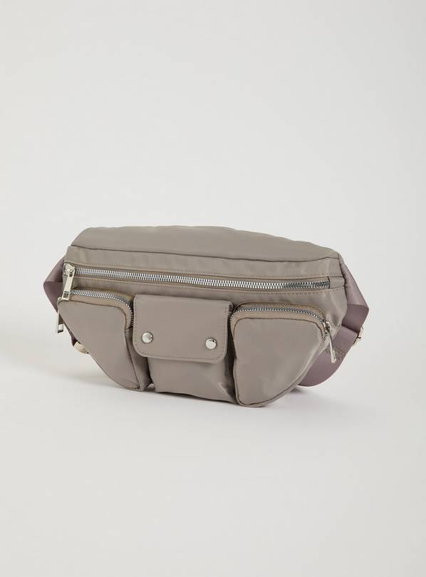 Grey Belt Bag - One Size