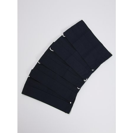 Kids Navy Non Medical Face Coverings 5 Pack - One Size