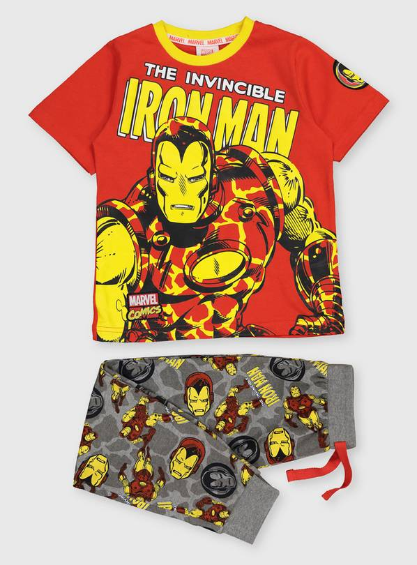 Marvel Avengers Iron Man Pyjamas - 3-4 years