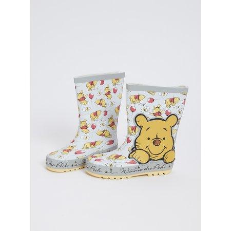 Disney Winnie The Pooh Silver Wellies - 8 Infant