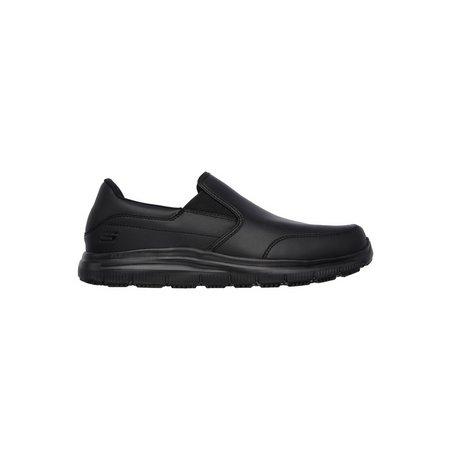 SKECHERS Black Flex Advantage SR Bronwood Slip On Shoe - 13