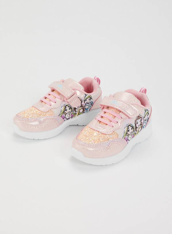Disney Princesses Pink Trainers - 9 Infant