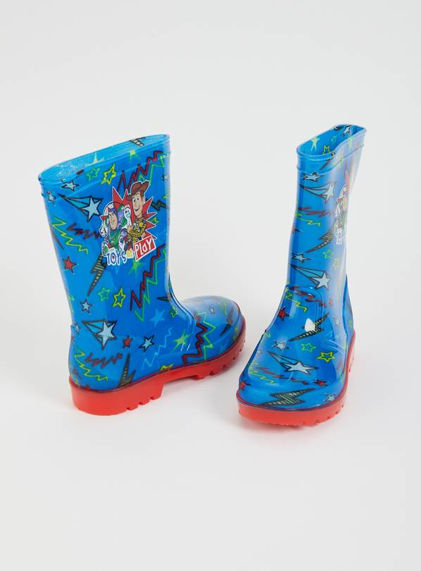 Disney Toy Story Blue Wellies - 8 Infant