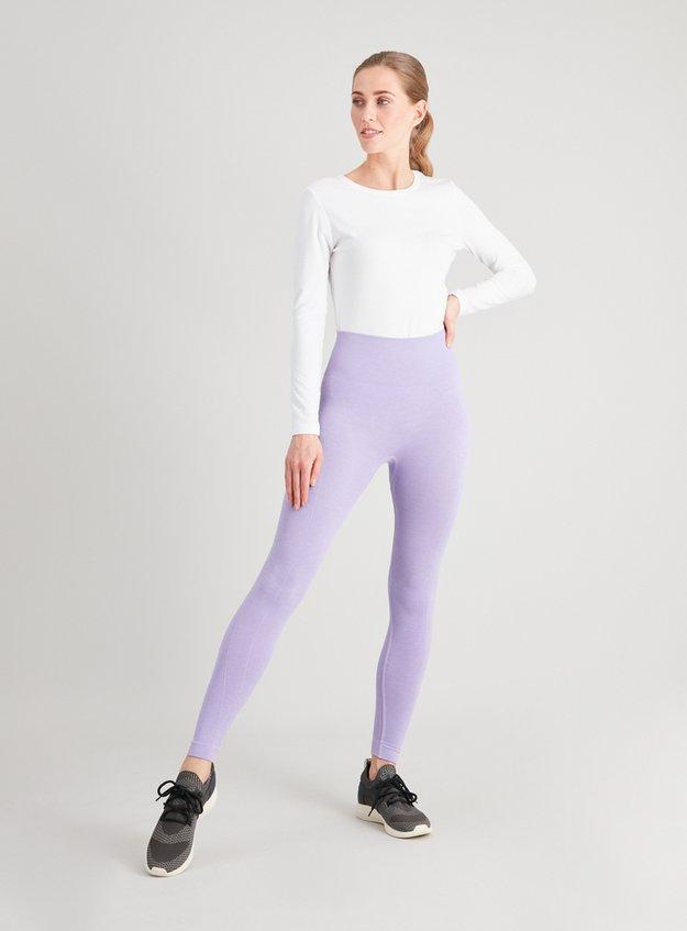 Active Lilac Seamless Leggings Tu at Sainsburys