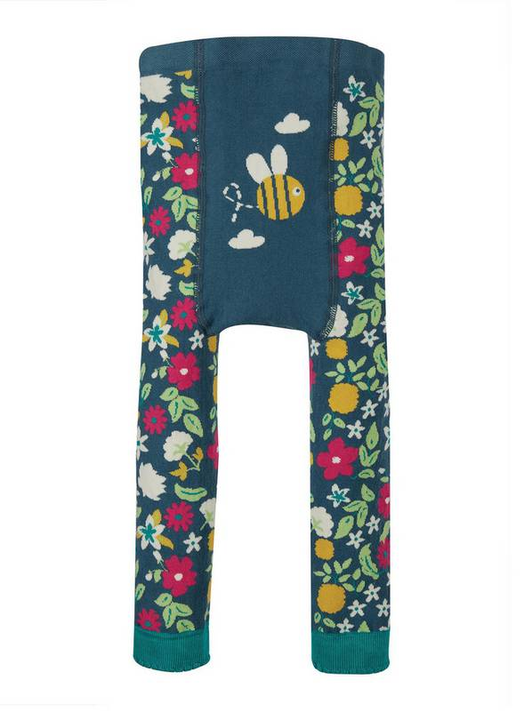 FRUGI GOTS Bee Knitted Leggings - 1-2 years