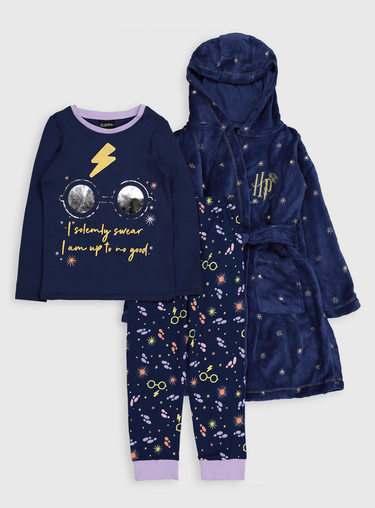 Harry Potter Pyjamas & Dressing Gown - 6-7 years
