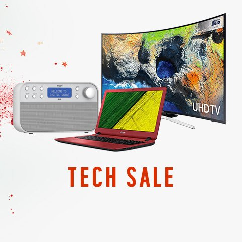 It's a totally terrific tech sale.