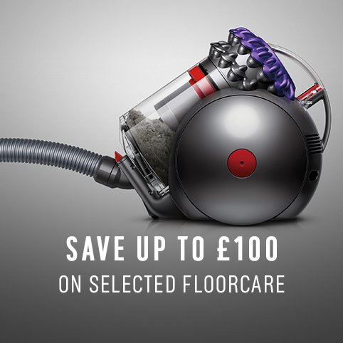 Save up to £100 on selected Floorcare.