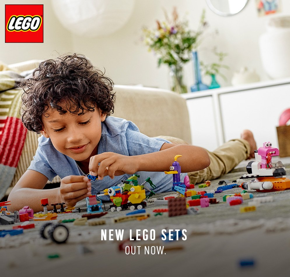 New LEGO sets out now.
