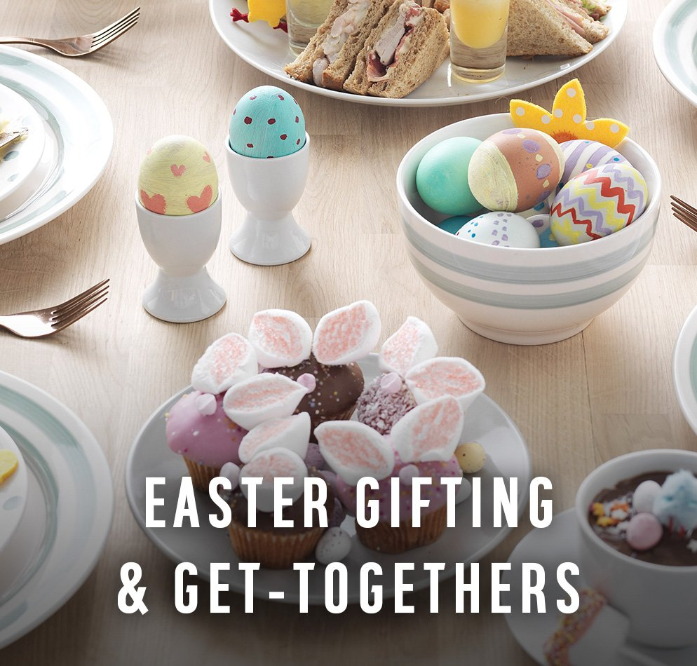 Easter gifting & get togethers. Gift something different this Easter.