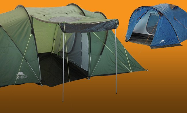 Save 1/3 on selected camping.