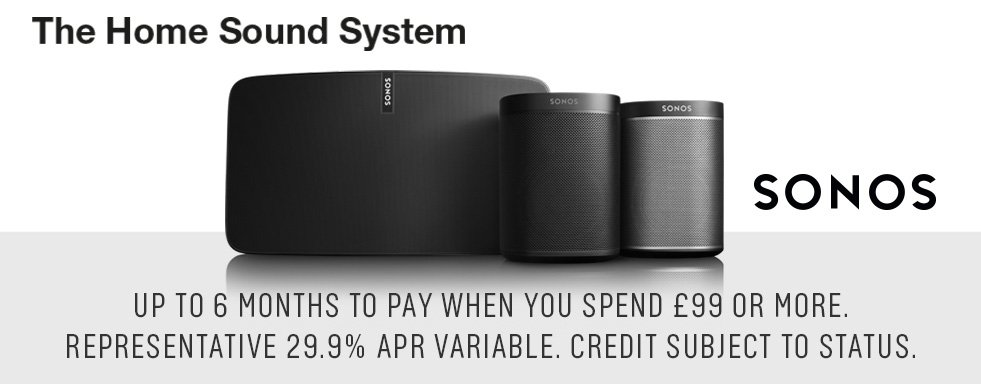 Sonos. The home sound system.