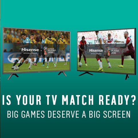 Is your TV match ready.