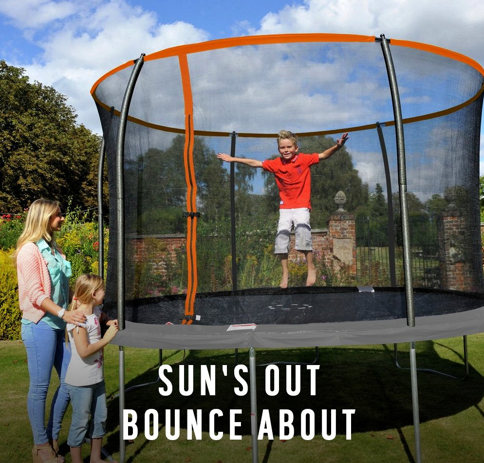 Sun's out? Bounce about!