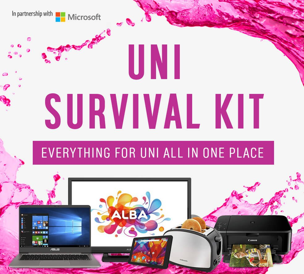 Everything for uni all in one place.