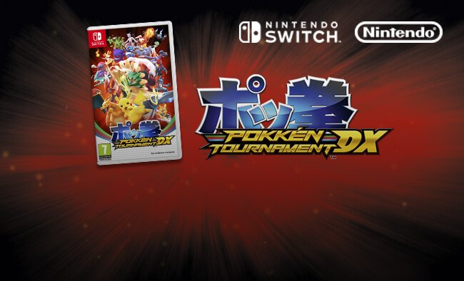 Shop Pokken DX. Out now.
