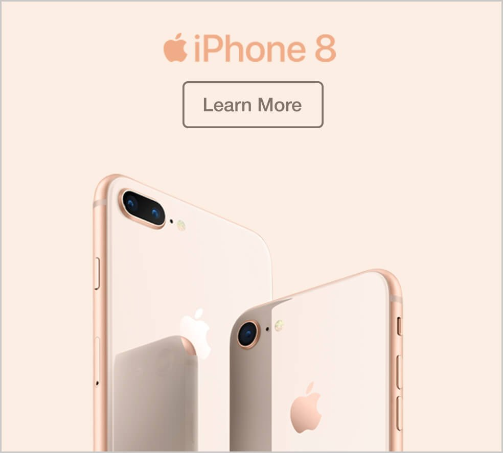 Apple iPhone 8. Learn more.