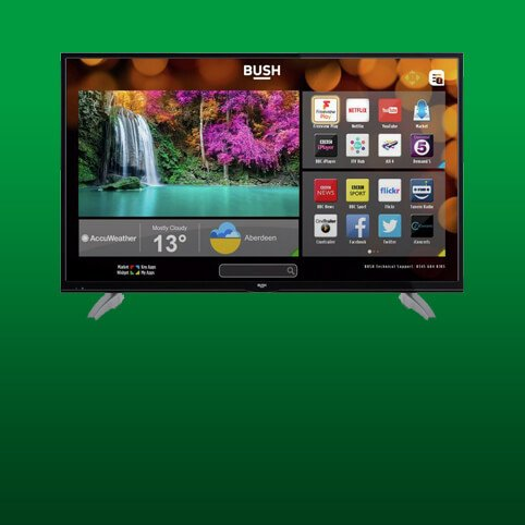 4K ultra HD televisions from £349.