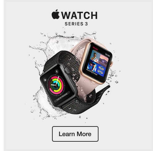 Apple Watch Series 3. Learn more.