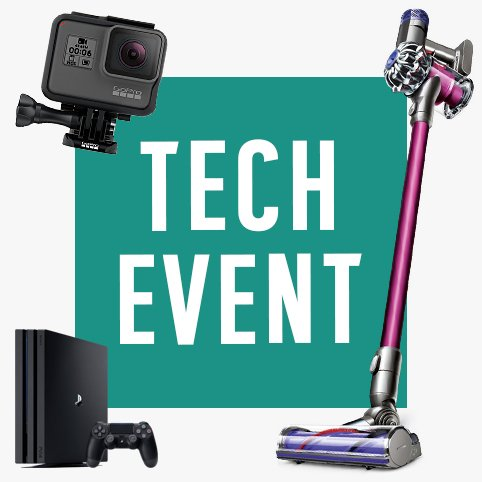 Shop our Tech Event.