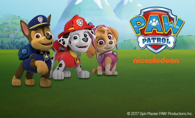 Save up to 20% on selected Paw Patrol.