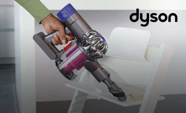 Save up to £240 on selected Dyson.