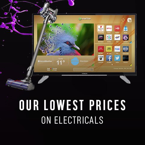 Our lowest prices on Electricals.