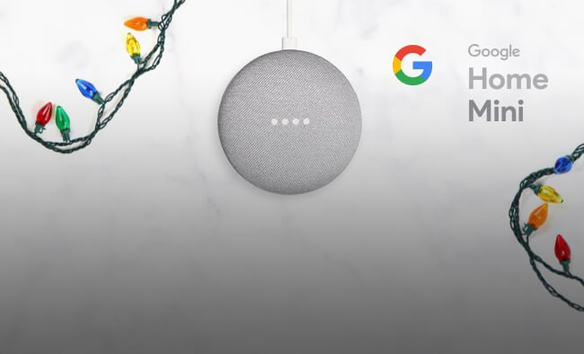 Google Home Mini is your powerful little helper.