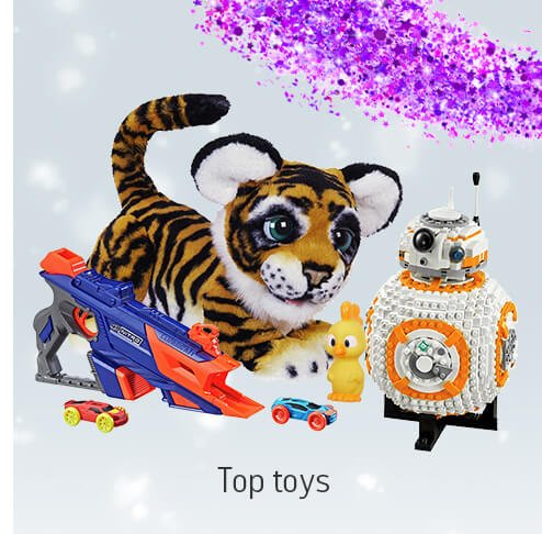 Top toys.