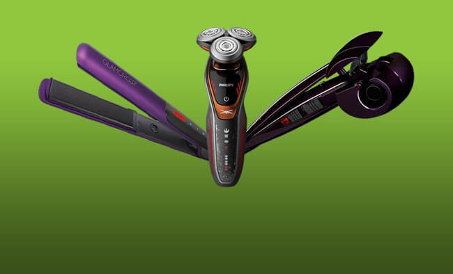 Choose from a range of shavers, straighteners, curlers and more.
