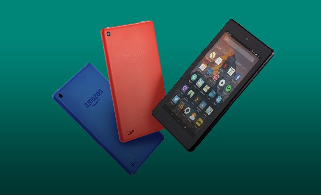 Save 25% on Amazon Fire 7 tablets only £37.49.