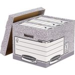 more details on Fellowes System Standard Document Storage Box - Grey.