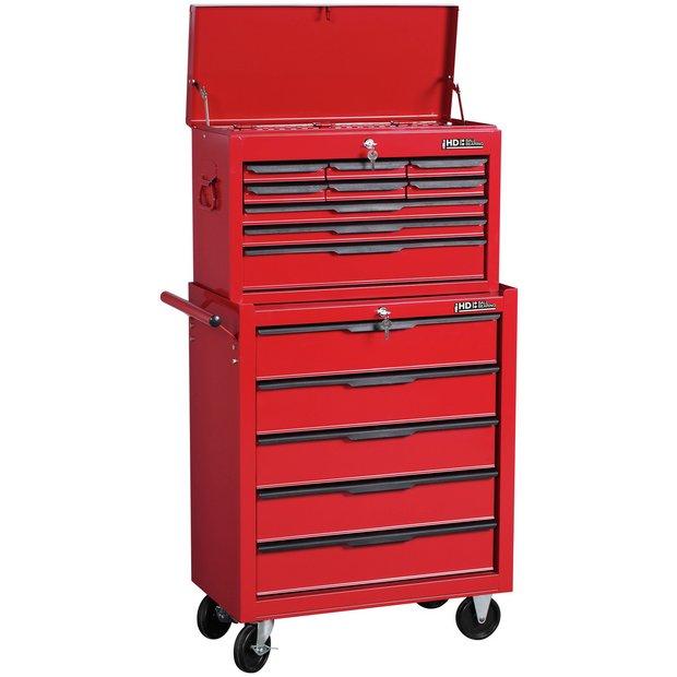 buy 14 drawer combination tool cabinet at. Black Bedroom Furniture Sets. Home Design Ideas